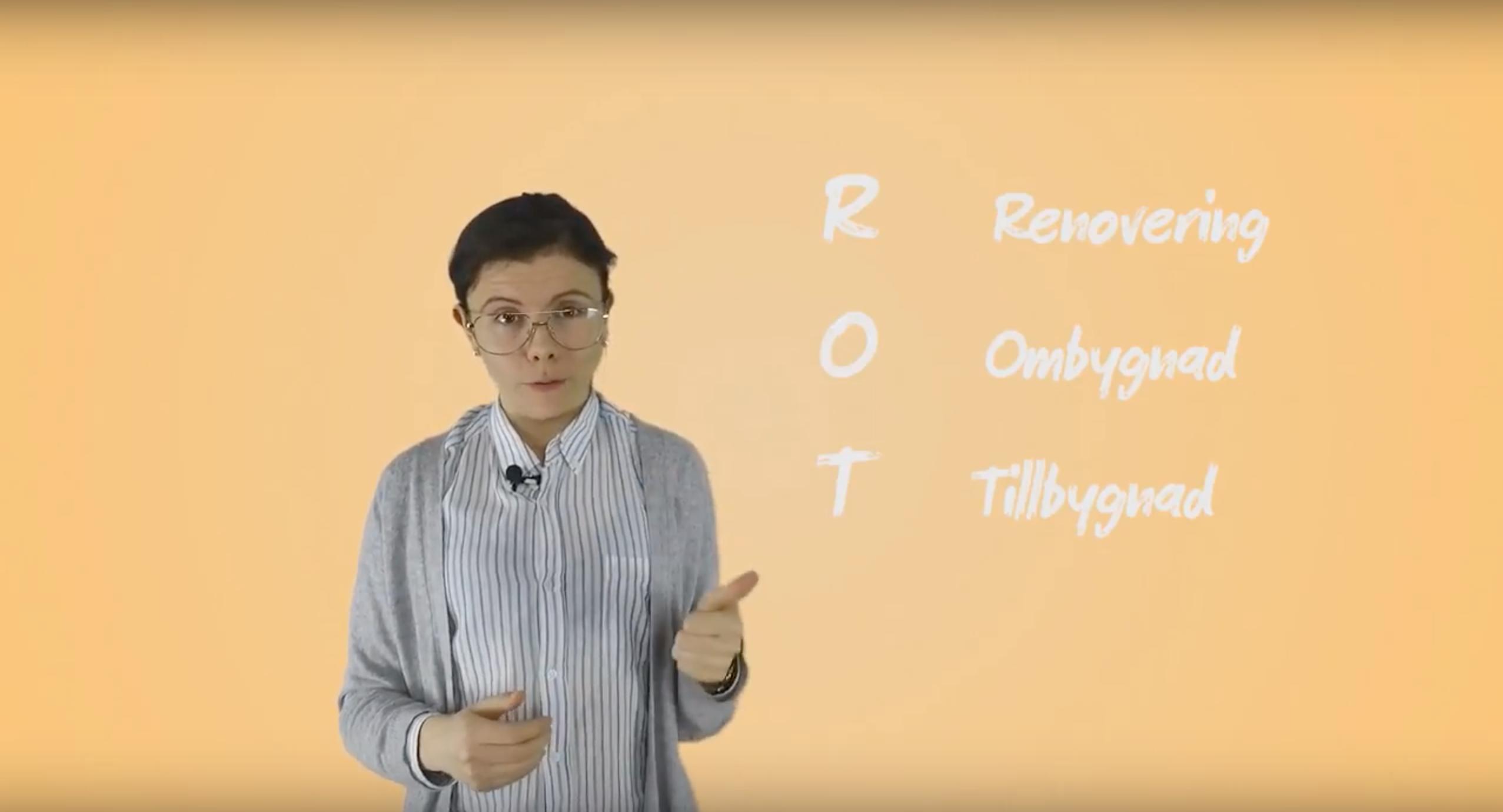 ROT och RUT, vad innebär avdragen?