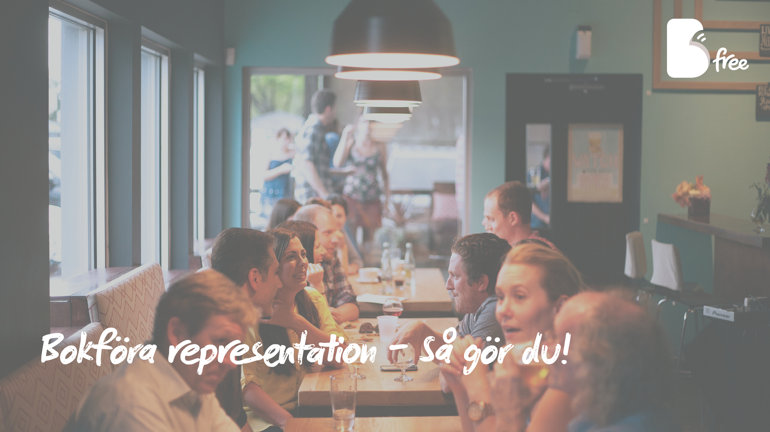 Bokföra representation – Så gör du